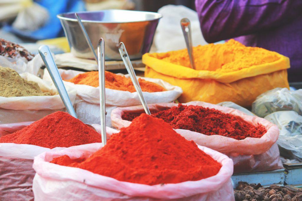 インドカレーのスパイス