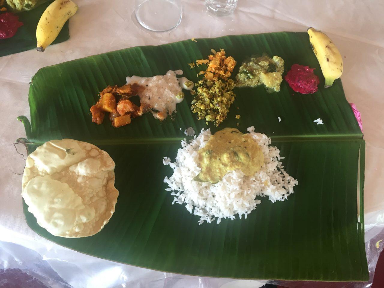 ヨガ留学中のインド料理