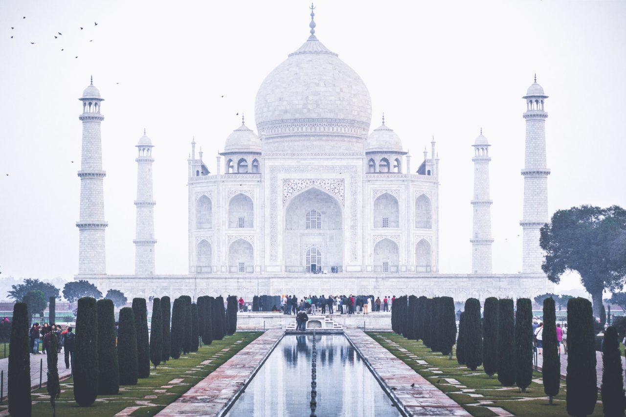 インドのタージマハル