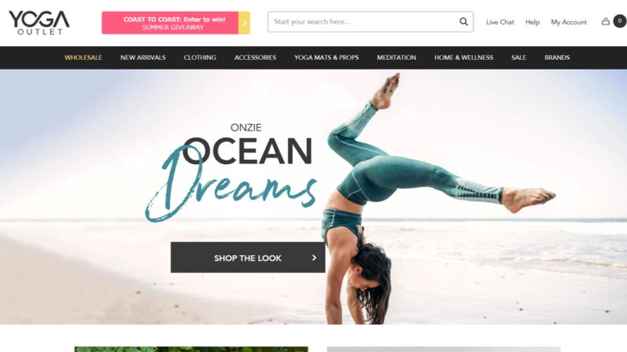 """【激安!】アメリカの人気有名ブランドのヨガウェアなら通販の""""YogaOutlet""""がおすすめ"""