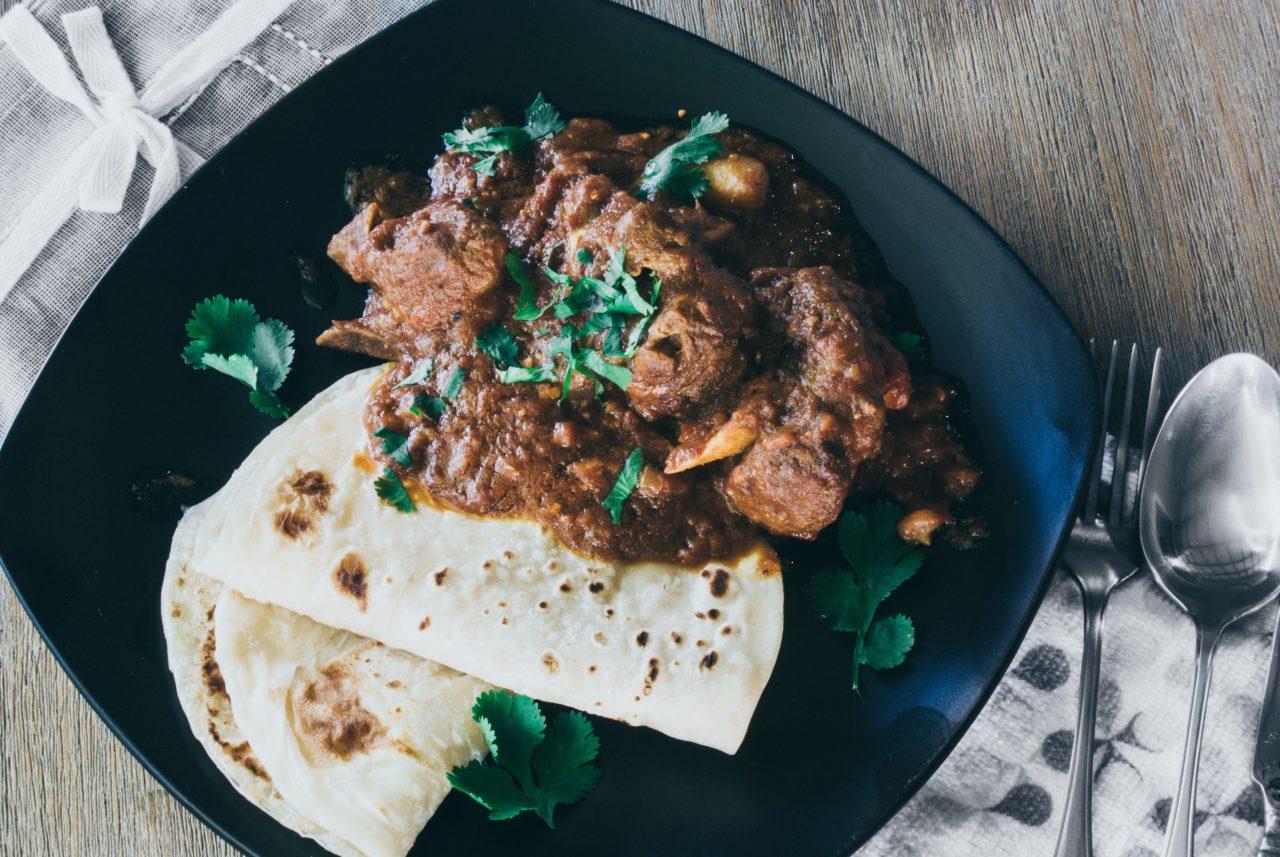 インド料理のナン