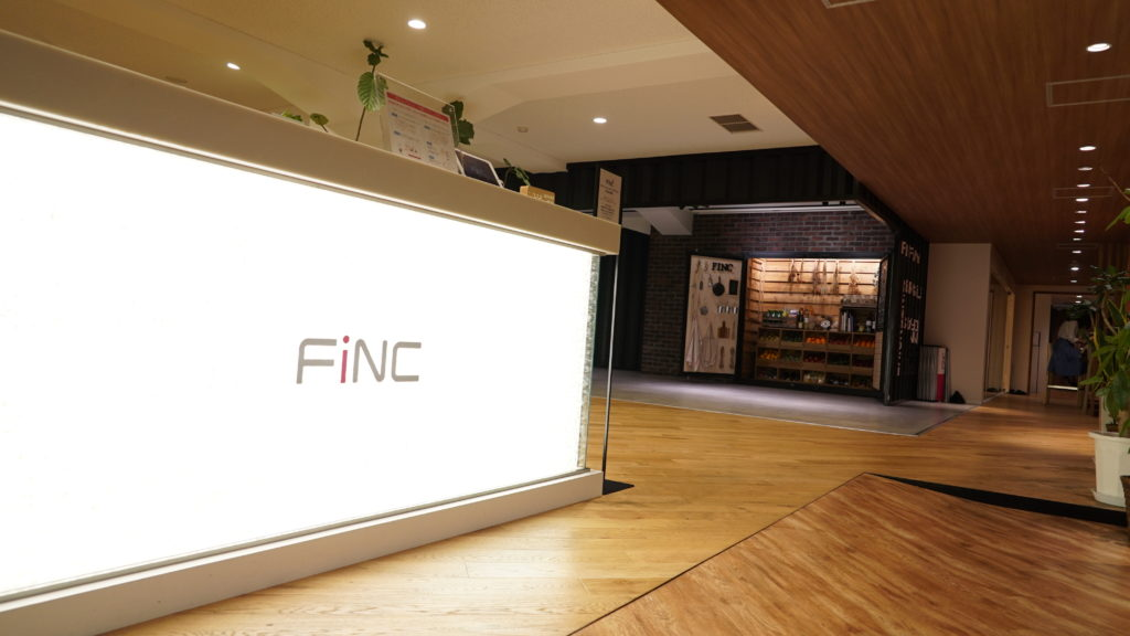 FiNCFit(フィンクフィット)有楽町店の受付
