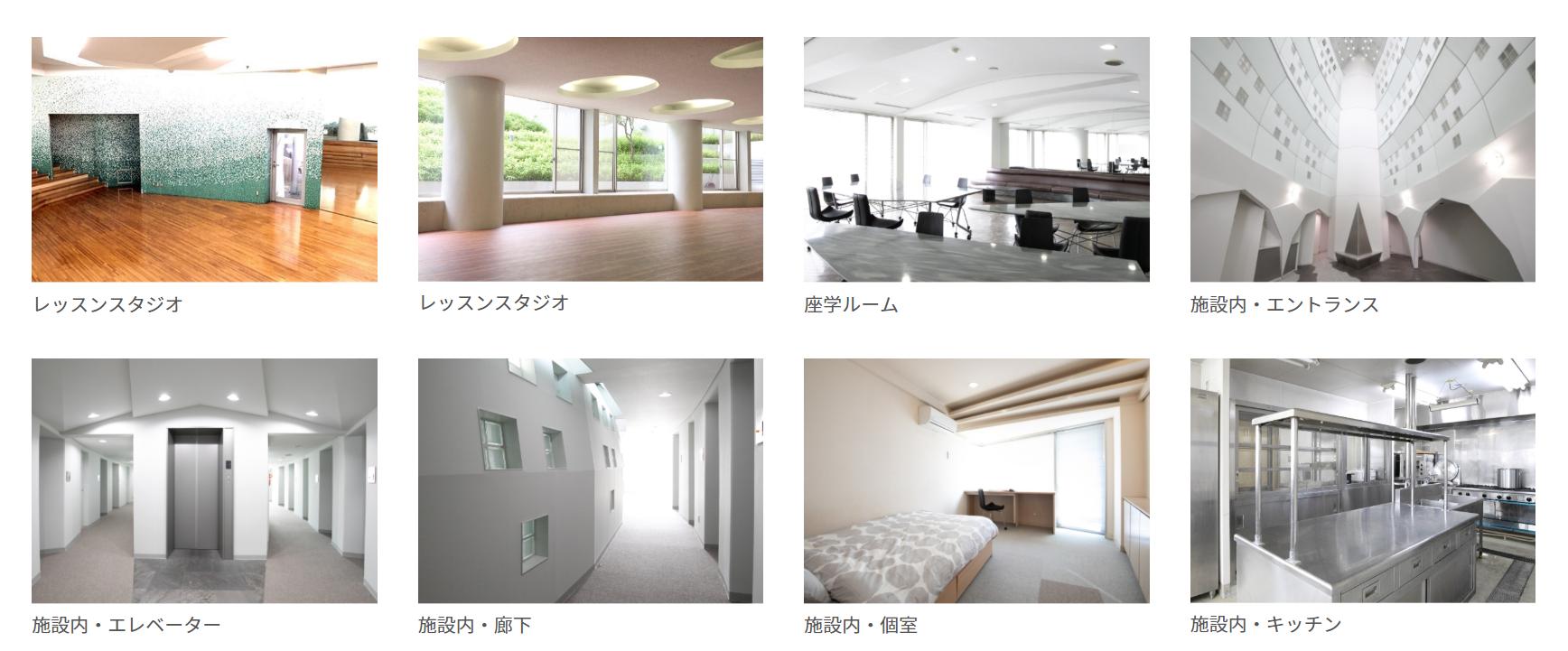 宿泊施設の内装