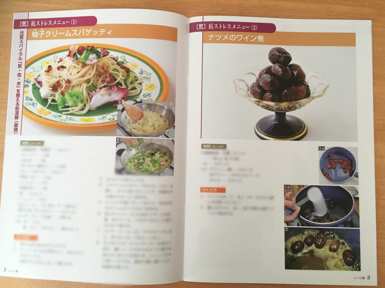 薬膳マイスターのレシピ集