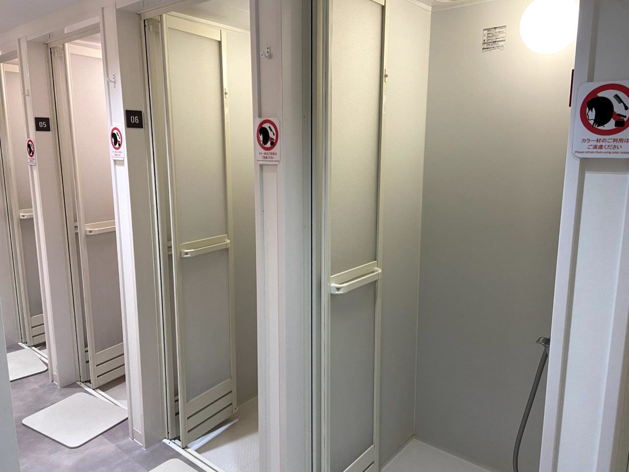 CYCLESTUDIOR渋谷のシャワー