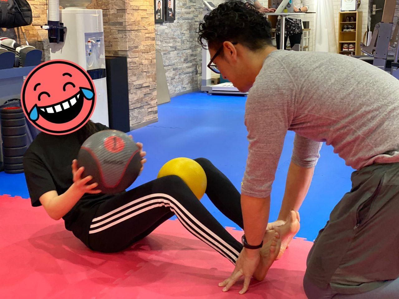 腹斜筋のトレーニング