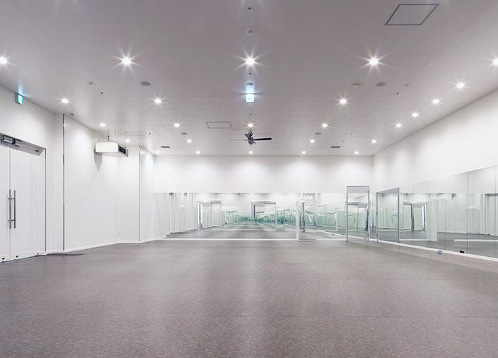 カルドのスタジオの床