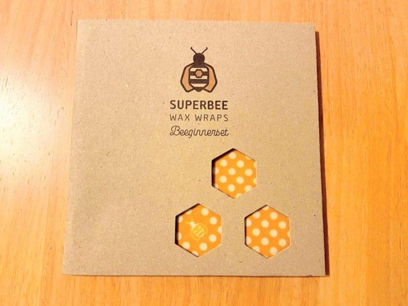 SUPERBEEの蜜蝋ラップ