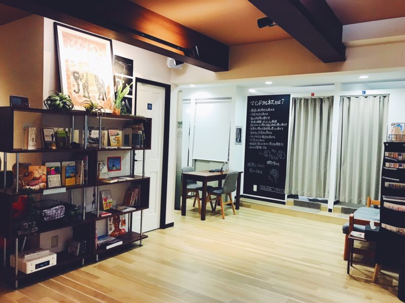 zen place yogaスタジオ写真
