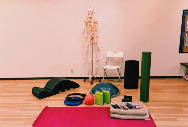 zen place yogaの備品
