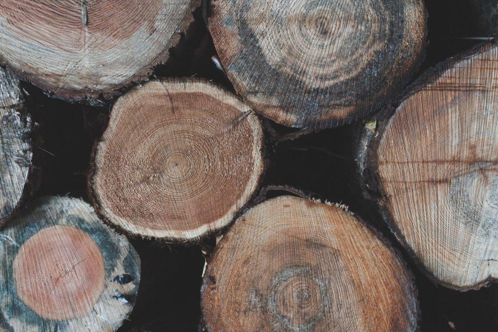 ローズウッドの木材