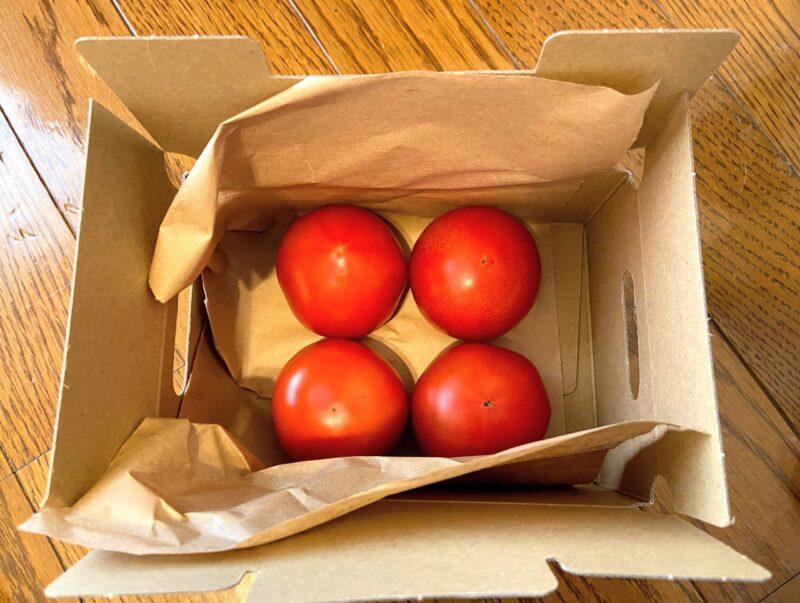 らでぃっしゅぼーやのトマト