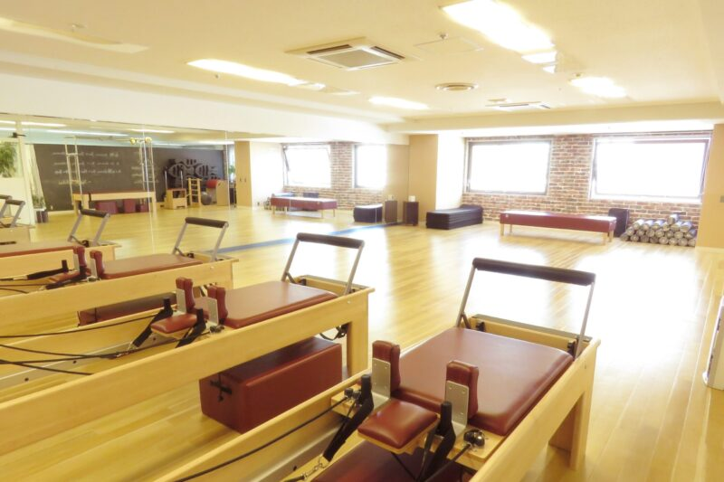 the pilates tokyoの店舗